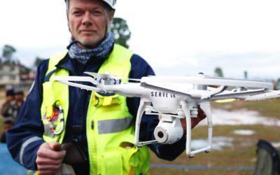 ¿Qué es la fotogrametría con drones?