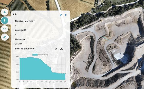 Nueva herramienta de medición de perfiles de elevación